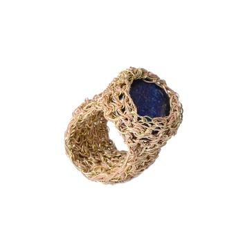 Gold lapis lazuli